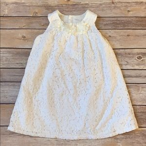 Carters Ivory Lace Dress
